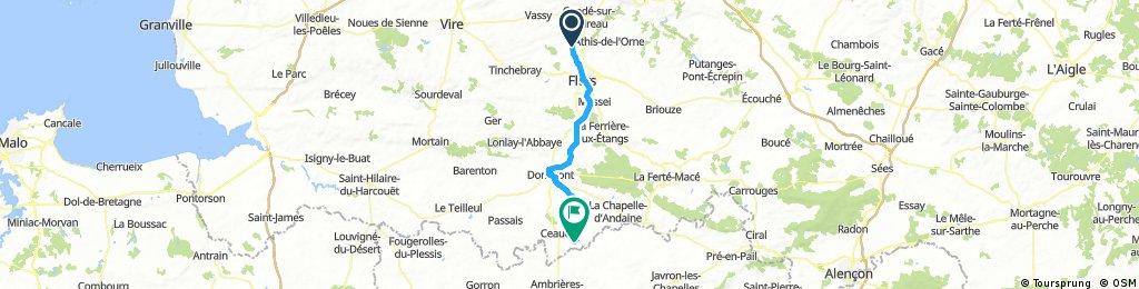 journée 2 : Caligny- Loré