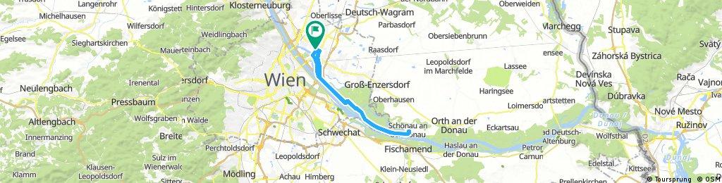 Einfach raus bis Schönau