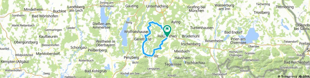 RSLC / équipe vélo: Königsdorfer Runde groß