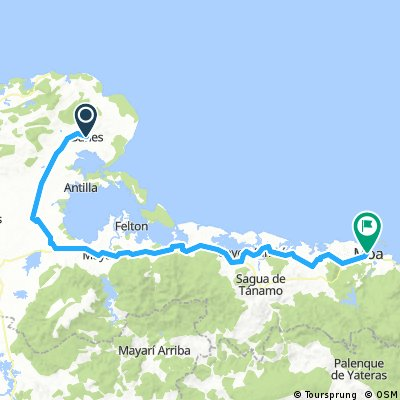 Cuba_Banes to Moa 156km