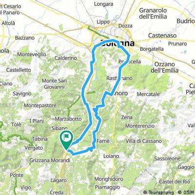 Rioveggio - Bologna und zurück