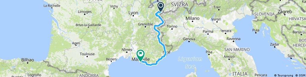Chamonix-Nizza-Marseille/Joshua und Christof