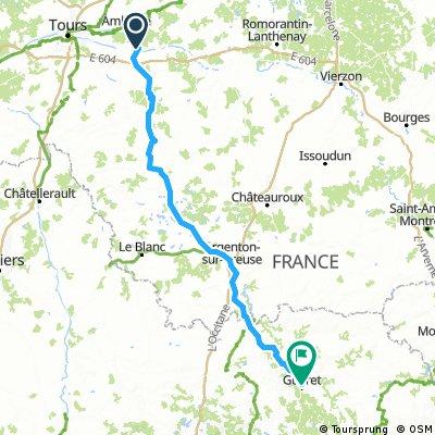 Civray to Perpignan - Day 1