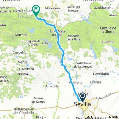 Sevilla to Arroyomolinos de Leon