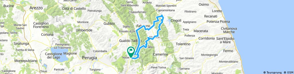 Termine-Porcarella-San Vicino-Corniello