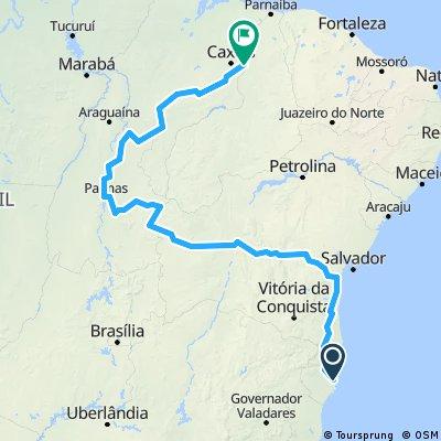 Bahia a Piaui