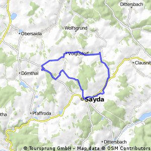 Abendrunde Vdorf-Sayda