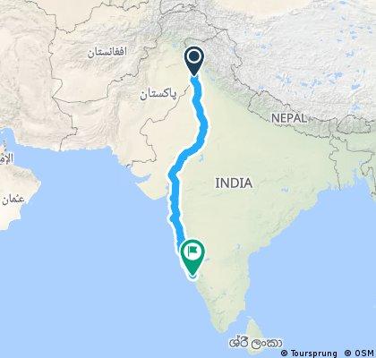 India leg 1
