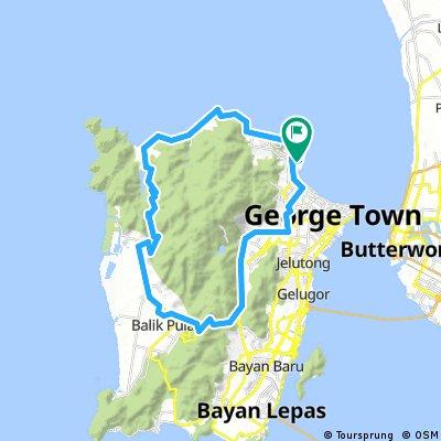 Short Circular Route Penang Island.