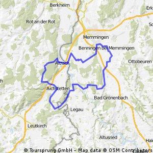 Benningen-Volkratshofen-Altmannspeier-Lautrach