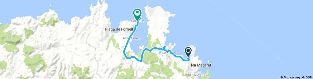Menorca a peu: camí de Cavalls, arenal d'en Castell-Fornells