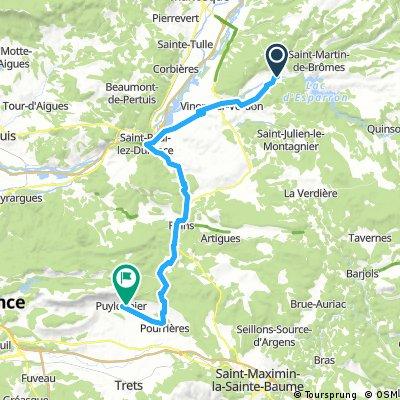 Gréoux les Bains - Puyloubier