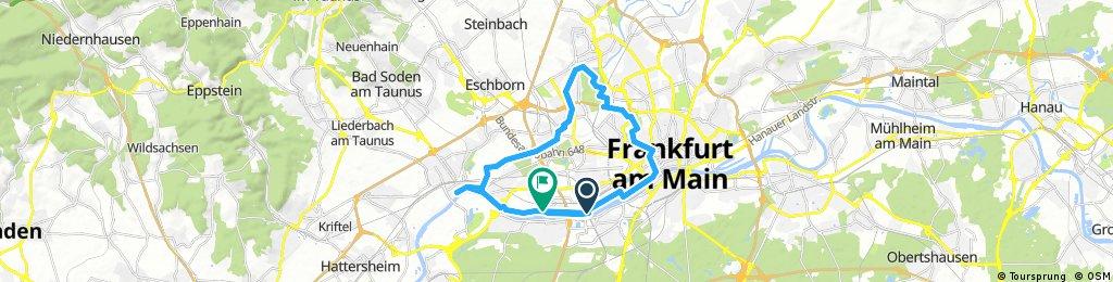 06 - Kleine Frankfurt-Runde über Nidda und Main