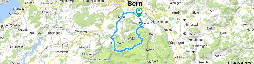 Kleinwabern - Flüh - Kleinwabern