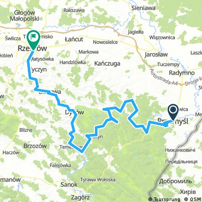 Cycling Green Velo. Eastern Cycling Trail in Subcarpathia