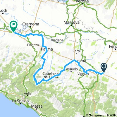 Emilia-Romagna and the Apennines. Cycling Italy