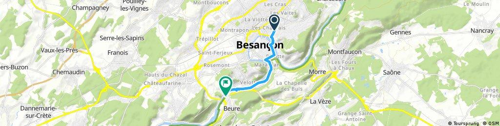 Besançon via Beure