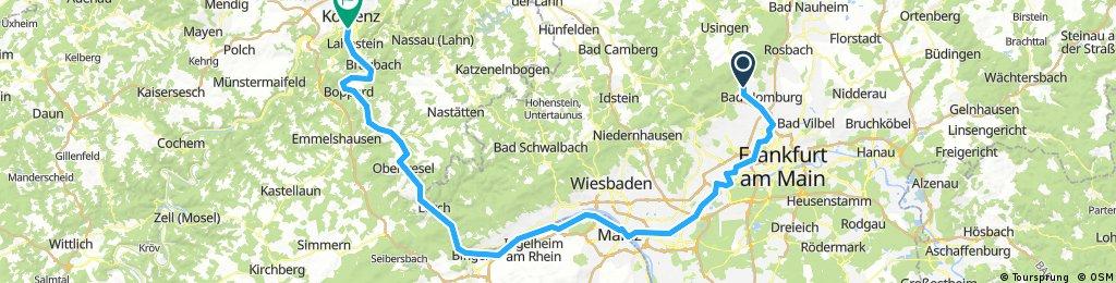 Vier Flüsse Tour  Teil 1
