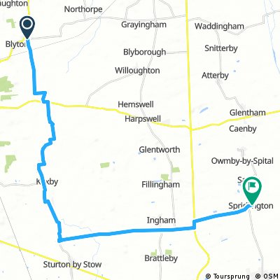 Blyton to Spridlington