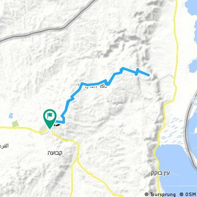 Arad - Massada (West camp site)