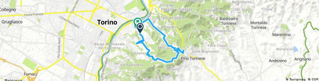 Pinp Torinese via Str Val San Martino e strada del Eremo
