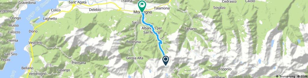 Passo San Marco - Morbegno (lungo la Via Priula)