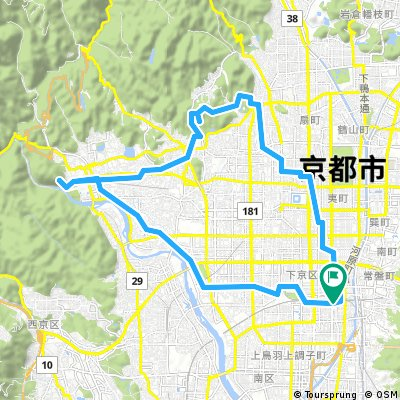 Kyoto 32KM to Arashiyama