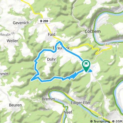 2018 Cochem Vrijdag 2 - 17km_340hm