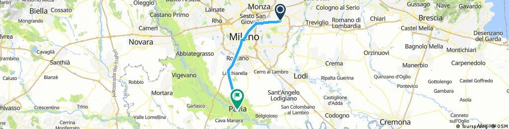 Gorgonzola (MI) - Pavia (PV)