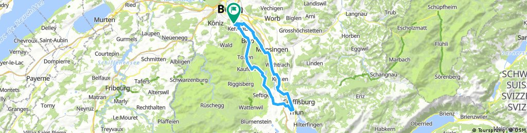 Kleinwabern - Thun - Kleinwabern