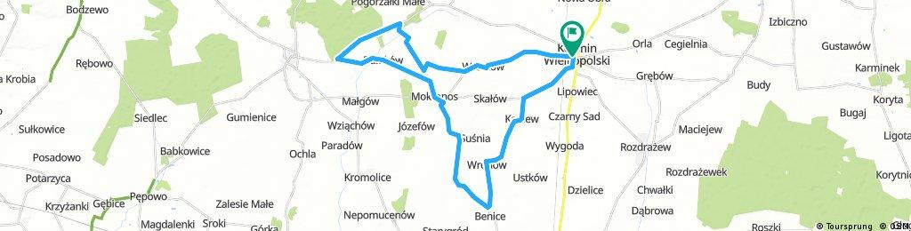 X Koźmiński Maraton Rowerowy - Dystans Średni i x2 Długi