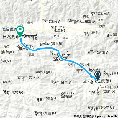 Gyantse - Shigatse