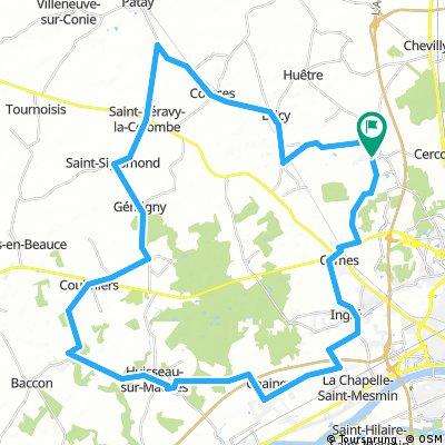 G04 - La renardière - 60 kms