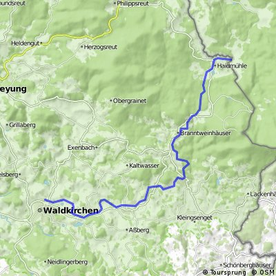 Adalbert-Stifter-Radweg