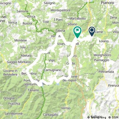 Rioveggio, Porretta Terme Corto