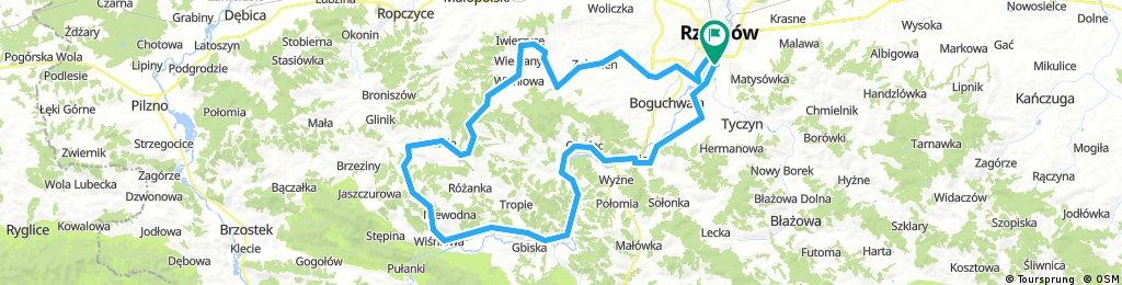Rzeszów-Szufnarowa-Strzyżów-Rzeszów