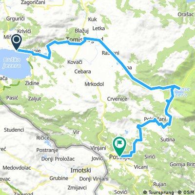 Bosznia bringatúra 5. nap