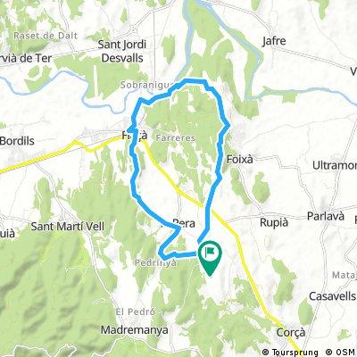 Girona ride day 1 : Easy
