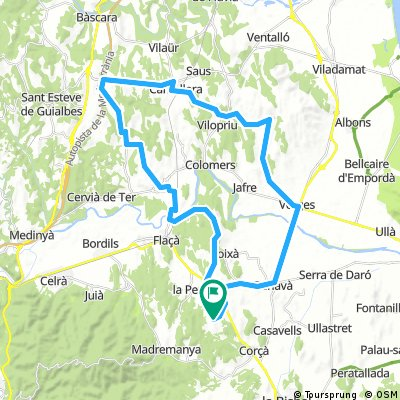 Girona ride day 2 : Rolling hills