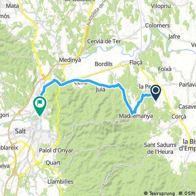 Girona ride day 4 : Recovery