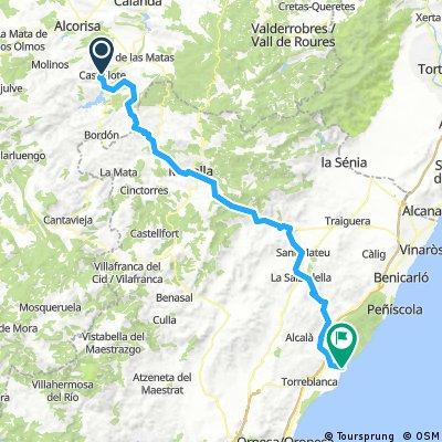 Castellote-Alcocebre_carretera