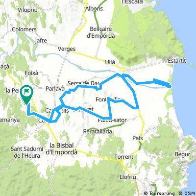 Girona optional ride