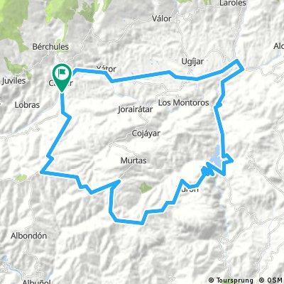 Reservoir 75km/ 1800m