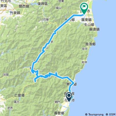 Haulien-Wuling Pass-Yilan