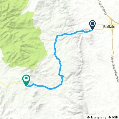 Wyoming Hill Climb - Rt 16