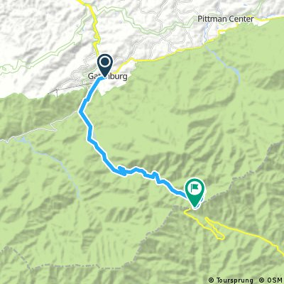 Clingmans Dome CLONED FROM ROUTE 577685 | Bikemap - Deine ...