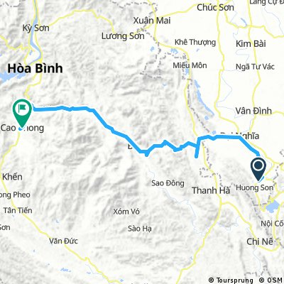 J78 - Vendredi 23 mars 2018 – Huong Son (Hoi Xa) – Cao Phong