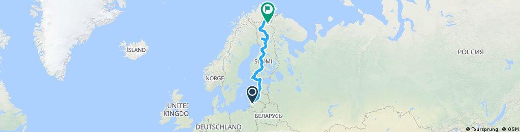 Finland2018: Samogitia-Lapland