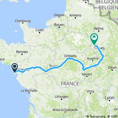 Atlantique - Romilly 800 km