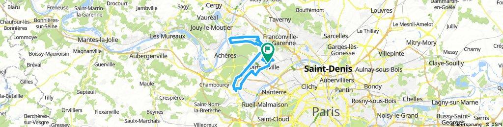 St Germain en laye et station d'épuration maisons laffitte